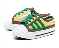 Туфли летние Sneakers King кожа GELB/GRUN 001-27  KING BOOTS