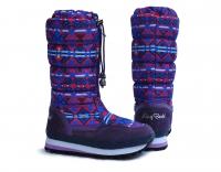 Сапоги женские KB370VFN Violett   KING BOOTS