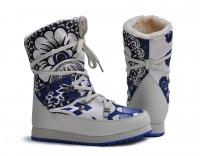 Сапоги женские дутики KB392BL  Blau KING BOOTS