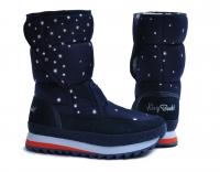 Сапоги женские KB388BL  Dk. Blau  KING BOOTS