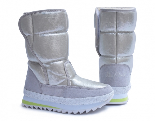 Сапоги женские KB377CR Bege KING BOOTS, KING BOOTS оптом