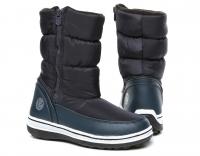 Сапоги женские 0179BL Dunkel Blau  KING BOOTS