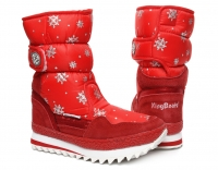 Сапоги женские 0289R Rot  KING BOOTS