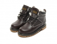 Ботинки из кожи KING BOOTS König der Wüste AS R8257 Brown