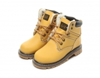 Ботинки из кожи KING BOOTS König der Wüste AS R7257   Yellow
