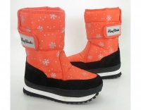 Сапоги зимние 9490 children orange KING BOOTS