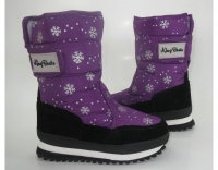 Сапоги зимние 9491-children purple KING BOOTS