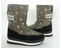 Сапоги зимние 9492 children khaki KING BOOTS