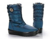 Сапоги женские KB520BL Blau Синий KING BOOTS Германия