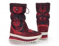 Сапоги женские KB583RT Rot Красный KING BOOTS Германия
