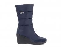Сапоги женские KB596 Blau Синий KING BOOTS Германия